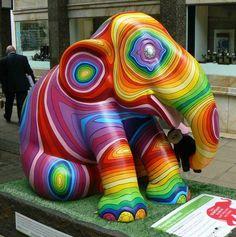 Elephant Parade in London 2010