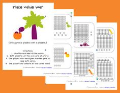 Place Value War FREEBIE (TODAY and TOMORROW ONLY!)