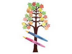 Gedichtenboom - Deze grote, stevige boom mag vol gehangen worden met gedichtjes over de herfst. De kinderen kunnen hun fantasie de vrije loop laten gaan. Schrijven nog te moeilijk? Tekenen kan natuurlijk ook!