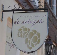 """Utrecht - Nieuwe Gracht 33 - restaurant """"de Artisjok"""""""