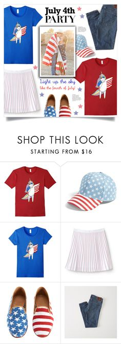 """Light Up The Sky Like The Forth Of July"" by mahafromkailash ❤ liked on Polyvore featuring BP., Lacoste and Abercrombie & Fitch"