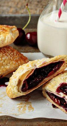 Cherry Hand Pies Recipe | My Baking Addiction