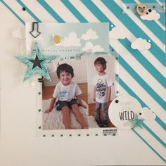 Wild & Free by Everyday Erin at @Studio_Calico Studio Calico, 2 Photos, Wild And Free, Project Life, Scrapbooking, Projects, Inspiration, Log Projects, Biblical Inspiration