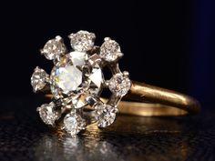 1940s Cartier Diamond Ring