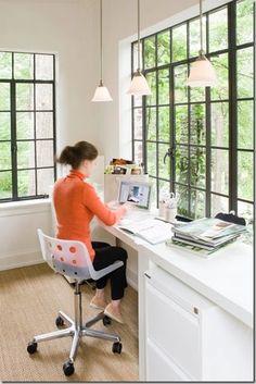 Decoração e Projetos Decoração de home office pequeno | Decoração e Projetos