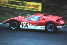 Lotus Europa at Brands Hatch - 1969