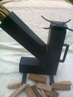 Cocina Para Disco Rocket Stove - $ 750,00