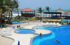 Outside Pool at the Ramada Resort, Accra Coco Beach - Accra - Ghana