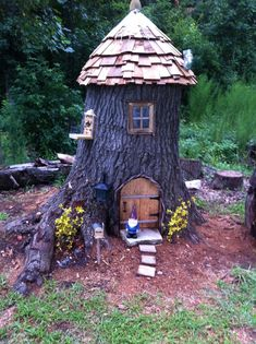✔ 71 what you have to know about gnome garden ideas landscapes and why 68 House & Garden gnome houses for the garden Fairy Garden Houses, Gnome Garden, Garden Trees, Fairy Tree Houses, Gnome House, Gnome Tree Stump House, Most Beautiful Gardens, Miniature Fairy Gardens, Garden Projects
