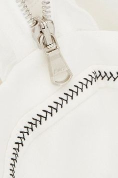 3.1 Phillip Lim - Ruffle-trimmed Plissé-silk Crepe De Chine Top - White - US