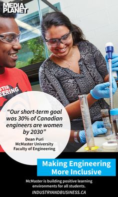 McMaster is leading the way for women in STEM with their focus on building positive learning environments for all students.