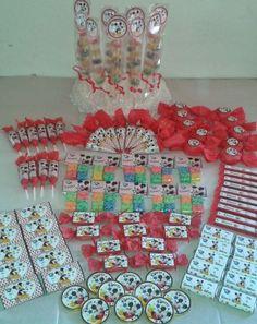 Minnie, Ideas Para, Shabby Chic, Holiday Decor, Candies, Aloha Party, Candy Stations, Manualidades, Kleding