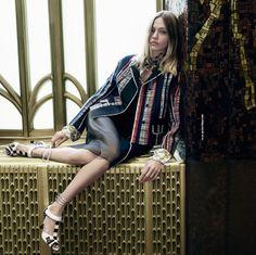 Sasha Pivovarova by Steven Meisel for Prada Spring Summer 2016 Ad Campaign