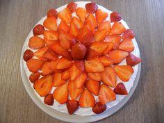 Torta panna e fragole - Celiachiamo con gusto