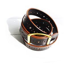 Belt 081 / eatsleeplay - Hand crafted leather goods.