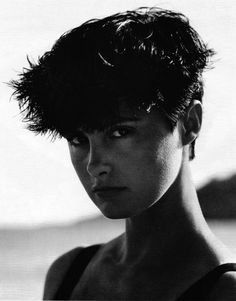Demi Moore Was So Pretty With Short Hair :)