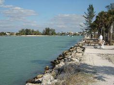 water edge in Englewood Florida