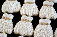 Wedding shower cookies :D