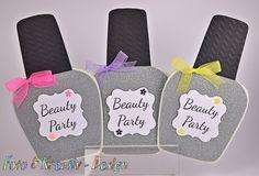 Einladungskarten - Beauty - Einladung Set 3/Stk. - ein Designerstück von…
