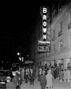 The Brown Hotel and Theatre, Louisville, KY