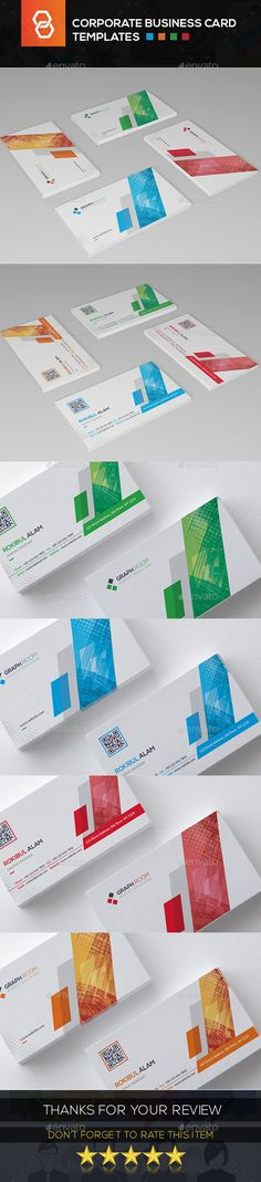 Buy Corporate Business Card by Rokibul_Alam on GraphicRiver. High detailed background and cool color style. Easy editable and organized layer. Corporate Brochure Design, Corporate Business, Business Card Design, Business Cards, Print Templates, Card Templates, File Organization, Printing Services, Creative