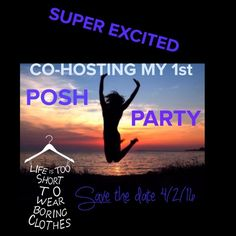 Looking for HOST PICKS  for POSH PARTY 4/2/16 Please help share my excitement!!  I will be searching for HOST PICKS. I wish I could share everyone's closet, I am not allowed to share that many. I will only pick from POSH COMPLIANT closets, if that's you recommend your closet or a closet of another fabulous posher!   Let's get ready to PARTY!!  Saturday 4/2/16 at 7:00PM PST  4/2/16 Other