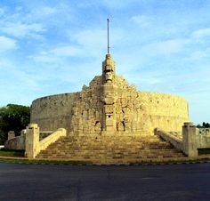 Merida, Mexico. One of the stops on a cruise