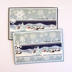 Anma.no - Blog - Clean & Simple Christmas cards by Dt Silje.