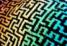 A-MAZE-ING: the pattern (2 versions) - CROCHET