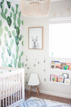 Cactus and Llama Baby Girl Nursery Reveal Related posts:the squaresThis gray and pink nursery was done on a small budget with lots of IKEA USA item.Cute Baby Nursery Inspiration With Whitewashed Walls Girl Nursery, Girl Room, Baby Room, Nursery Decor, Room Decor, Nursery Ideas, Nursery Inspiration, Project Nursery, Kids Bedroom Furniture