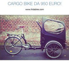 #cargobike #fridabike #prezzi milano #bicicletta #bambini #gemelli #mamme #trike