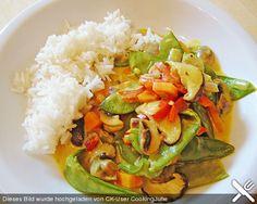 Scharfes Gemüse in Kokossauce, ein raffiniertes Rezept aus der Kategorie Gemüse. Bewertungen: 13. Durchschnitt: Ø 4,1.