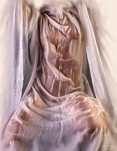 Wet silk by Kjetil Barane