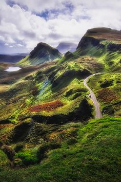 Quiraing, Trotternish Peninsula, Isle of Skye, Hebrides, Highlands, Scotland by Ian Hex of LightSweep