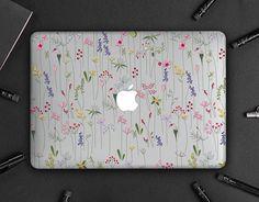 Apple Laptop Macbook, Macbook Pro, Macbook Case, Spring Flowers, Mac Book, Handmade Gifts, Objects, Cases, Tech