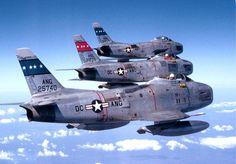 Formation flight Sunday. Sabres