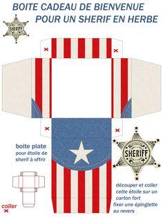 Printable Sheriff Box