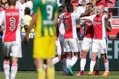 Ajax won zondagmiddag overtuigend met 4-0 van ADO Den Haag. De Amsterdammers blijven zodoende zonder puntverlies in de Eredivisie, en incasseerden bovendien nog geen enkele tegengoal. Man van de wedstrijd was Davy Klaassen, die de assist gaf op de 1-0 van Anwar El Ghazi en zelf de tweede treffer binnenschoot. Na afloop was hij dan ook zeer content met de overwinning van zijn ploeg.