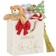 Shopping with Lenox Ornament by Lenox