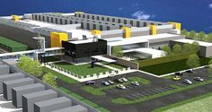 RagingWire 80 MW Data Center Campus in Texas Data Center Design, Dallas Morning News, Thing 1, Group Of Companies, Commercial Real Estate, Corridor, One In A Million, Square Feet, Acre