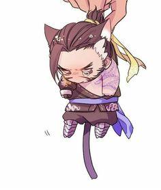 Aww!! Hanzo is so adorable!