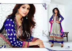 Shilpa Shetty Bollywood-Indian Model-Actress Wear Ankle Length Ethnic Fancy Anarkali Frocks 2014 Fashion Outfits Suits  see more at http://freenty.blogspot.com/2014/10/shilpa-shetty-bollywood-indian-model.html