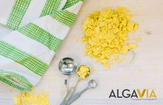 AlgaVia™ Whole Algal Flour is a lipid-rich powerhouse ingredient that can replace or reduce dairy fat, egg yolks and oil in recipes while providing incredible texture and mouth feel. Enabling the formulation of healthier products, AlgaVia™ Whole Algal Flour reduces fat, cholesterol and calories with the added benefits of texture enhancement, emulsification, water binding, and flavor delivery.
