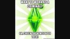 Wow, no wonder my sims get robbed all the time!