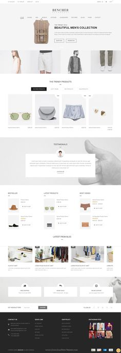 Bencher is a Premium Responsive Magento theme with extremely customizable admin settings. Suitable for every type of store. It comes with 8 homepage layouts.