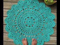 Irish crochet &: CROCHET RUG.......КОВЕР СВЯЗАННЫЙ КРЮЧКОМ
