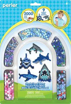 Sharks Activity Kit   Perler Beads