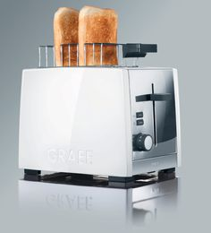 Quality Graef White 2 Slot Toaster at CookInStyle.co.uk - TO81UK