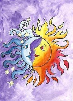 Moon and Sun by Deb Coats