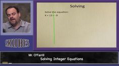 Solving Integer Equations | Skubes